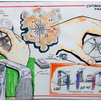 Design Compass Faucet